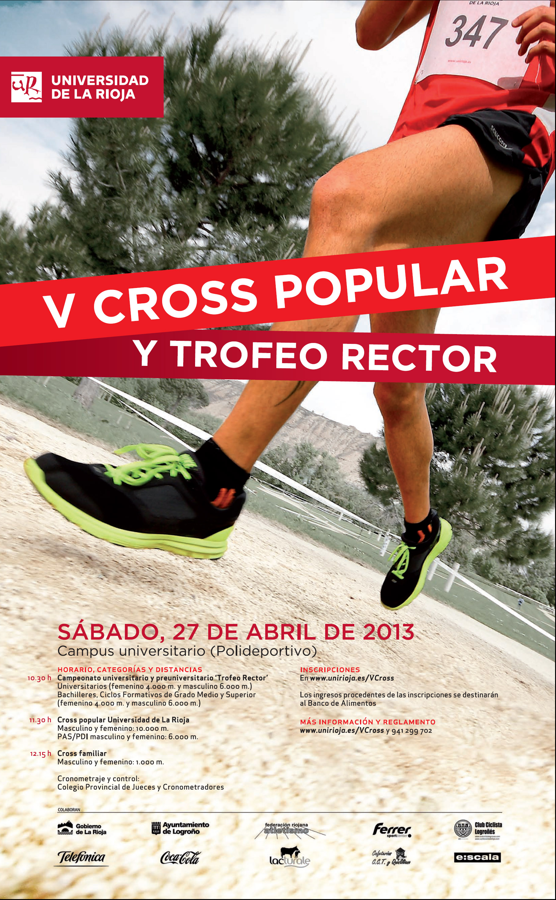 Foto de V Cross Popular de la UR y Trofeo Rector