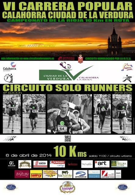 Horarios de Cto. De La Rioja de 10 km