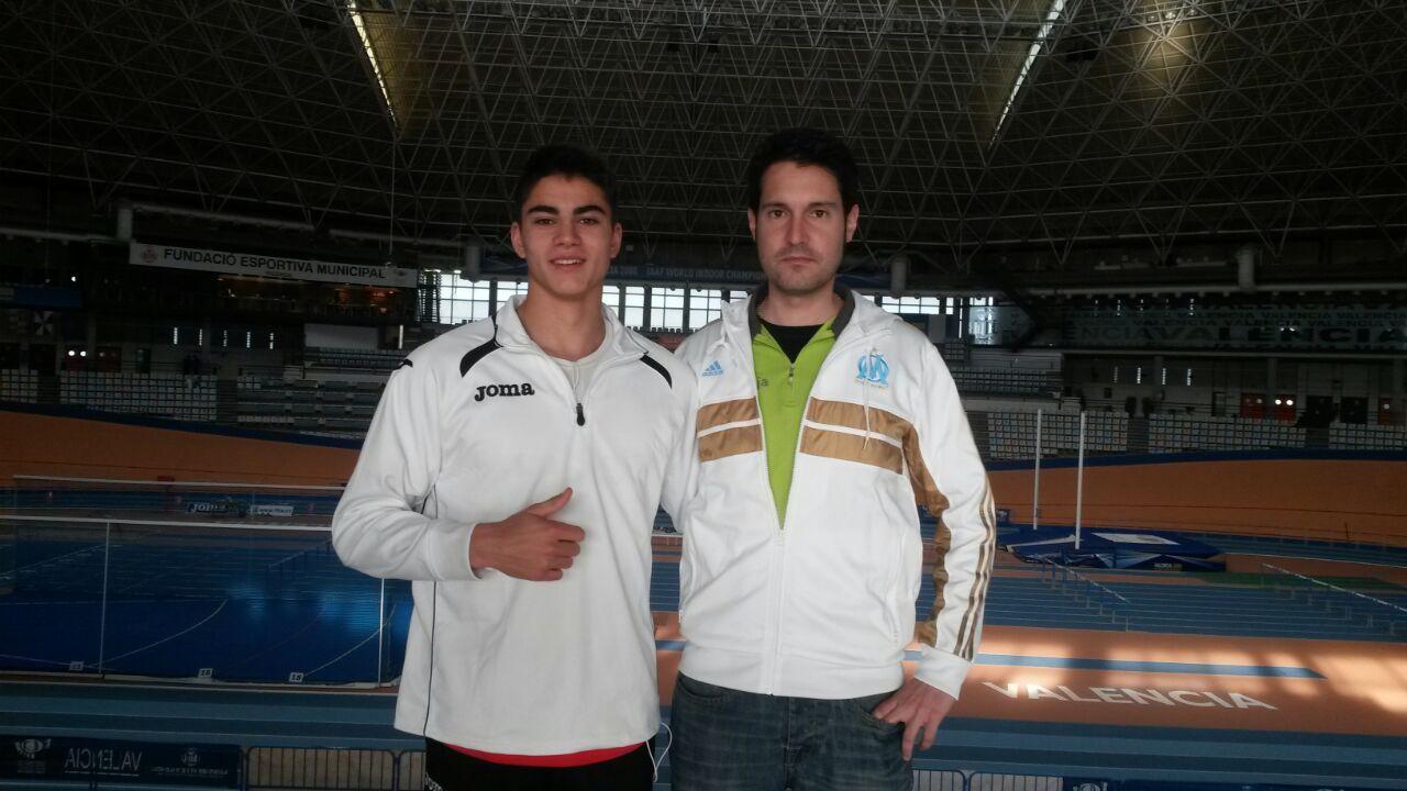 Foto de Buen papel de Rodrigo Iglesias en el Campeonato de España Junior en Pista Cubierta