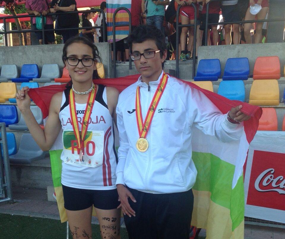 Foto de Un primer puesto y un tercero para La Rioja en el Campeonato de España  por Selecciones Autonómicas Cadete en Edad Escolar