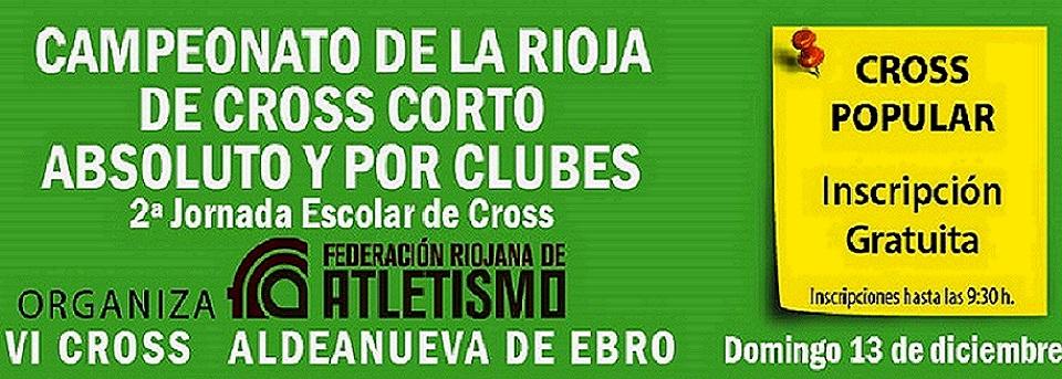 Foto de Campeonato de La Rioja de Cross Corto por Clubes- Inscritos